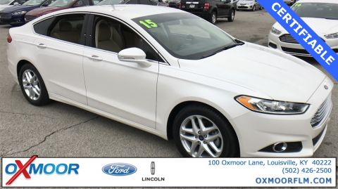 Certified Used Ford Fusion SE