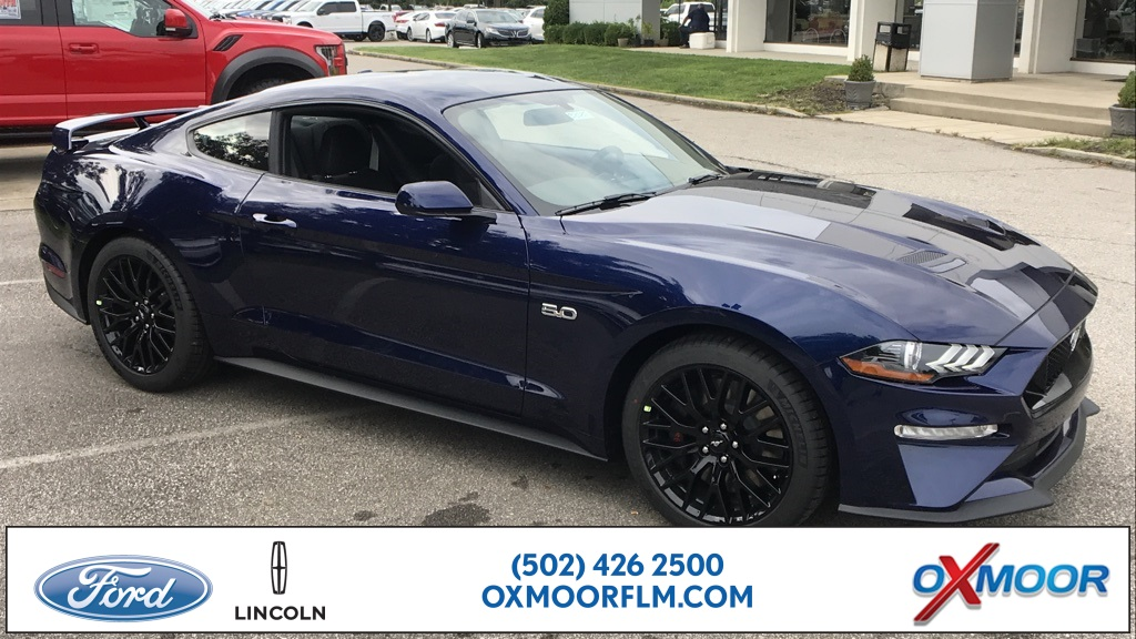Ford Mustang Gt >> New 2019 Ford Mustang Gt 2d Coupe In Louisville 38585 Oxmoor Ford