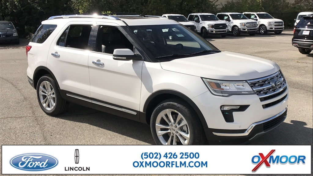 Ford Explorer Limited >> New 2019 Ford Explorer Limited 4d Sport Utility In Louisville 38750