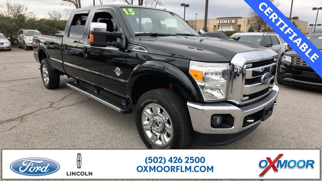 Certified Pre-Owned 2015 Ford F-350SD Lariat