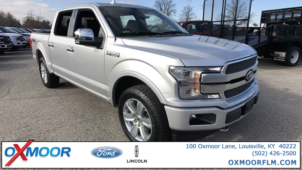 New 2018 Ford F-150 Platinum 4D SuperCrew in Louisville ...