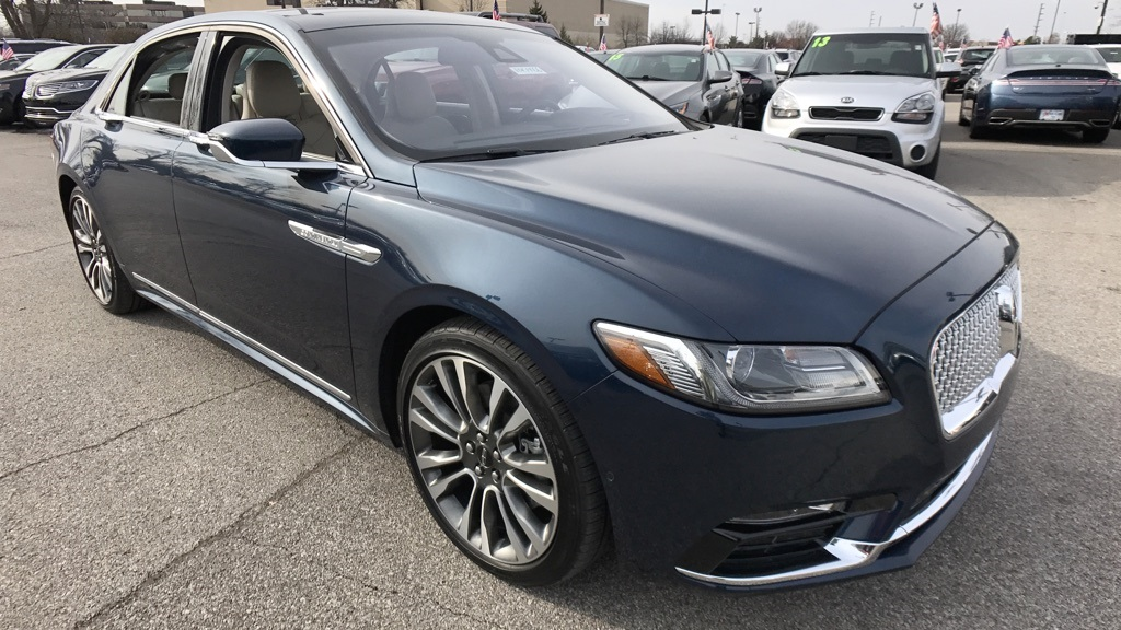 New 2017 Lincoln Continental Reserve 4D Sedan in Louisville #10L1466 ...