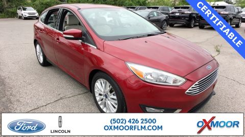 Certified Pre-Owned 2017 Ford Focus Titanium
