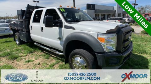 Pre-Owned 2011 Ford F-550SD XL