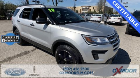 Certified Pre-Owned 2018 Ford Explorer Base